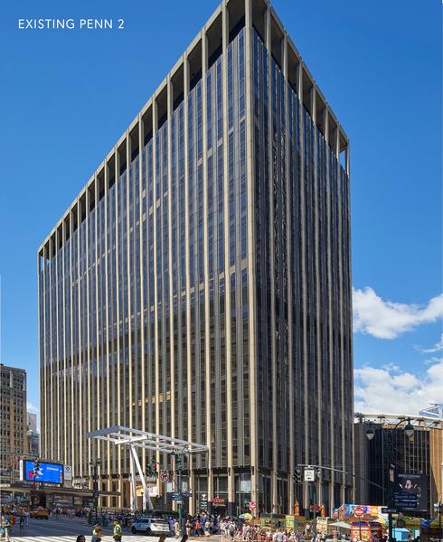 Penn 2 building - existing