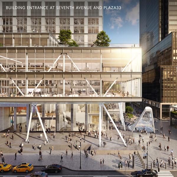 Proposed Building Entrance