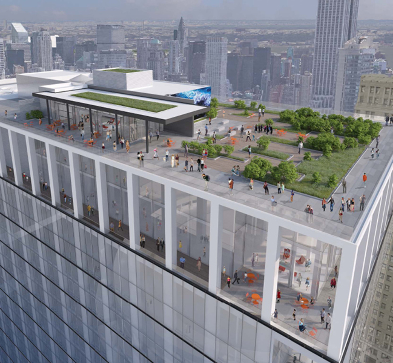 Proposed Rooftop Terrace