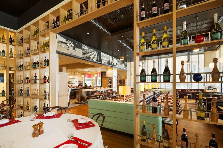 Building Restaurant Interior