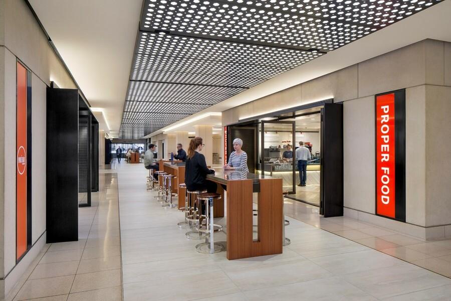 Building Concourse Interior