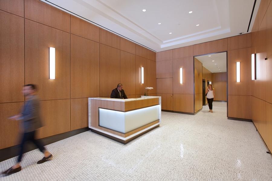 Building Interior Securtiy Desk Area