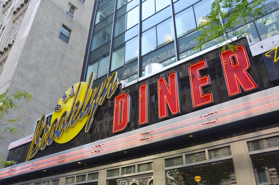 Building Restaurant Signage