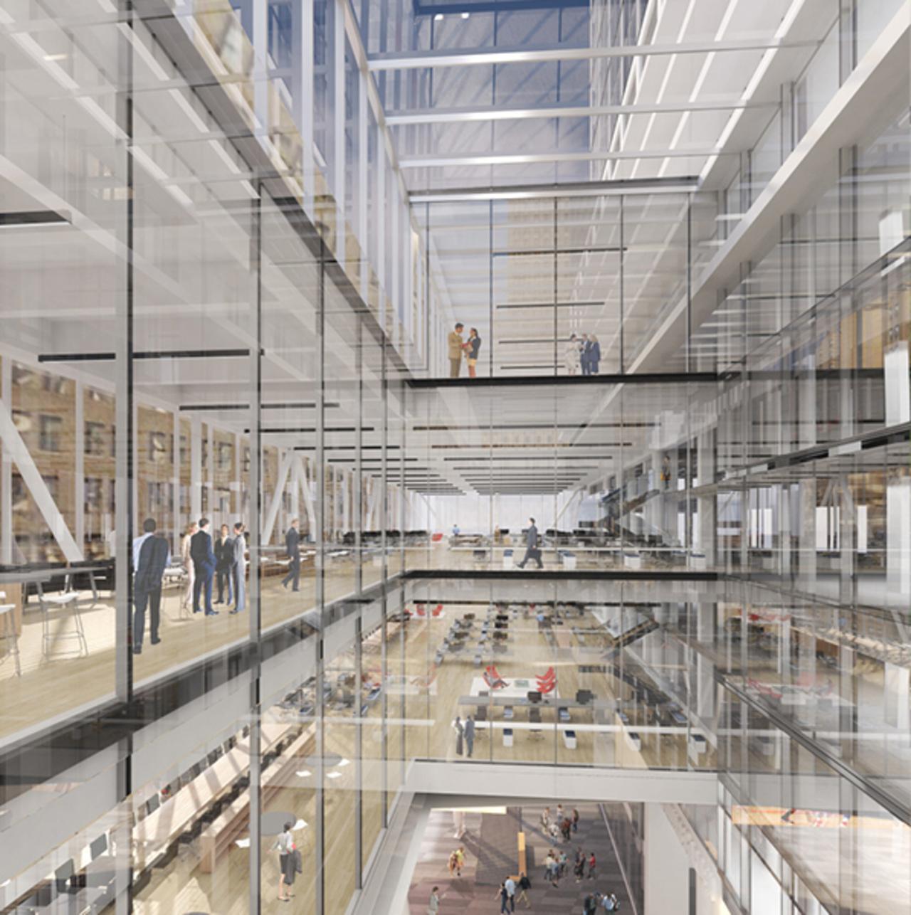 ProposedPENN 2 Office Atrium