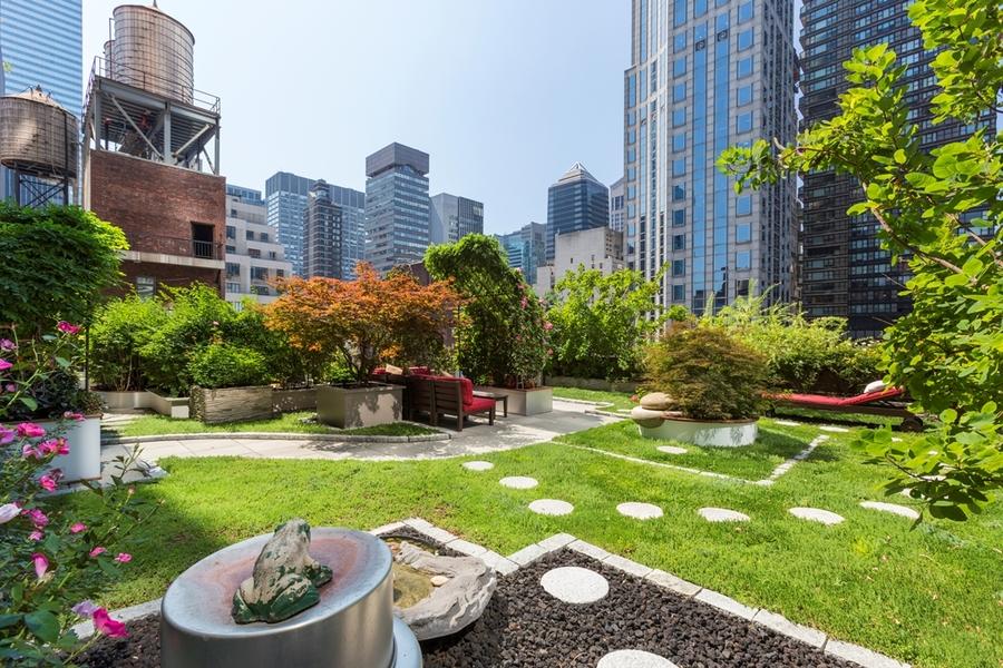 Exterior Rooftop Garden
