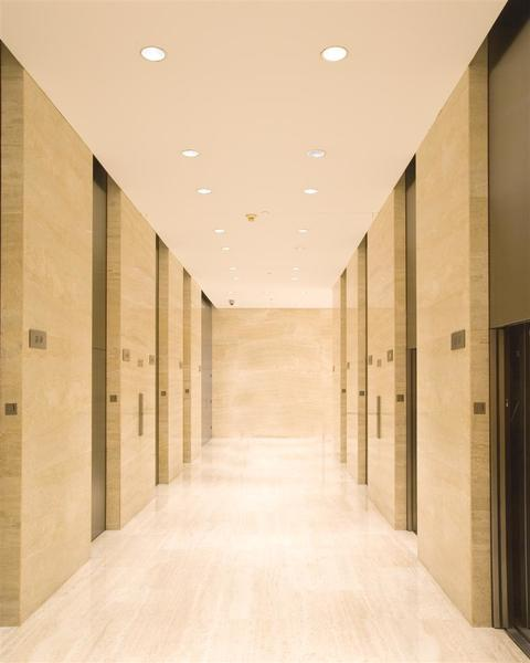 Building Interior Elevator Area