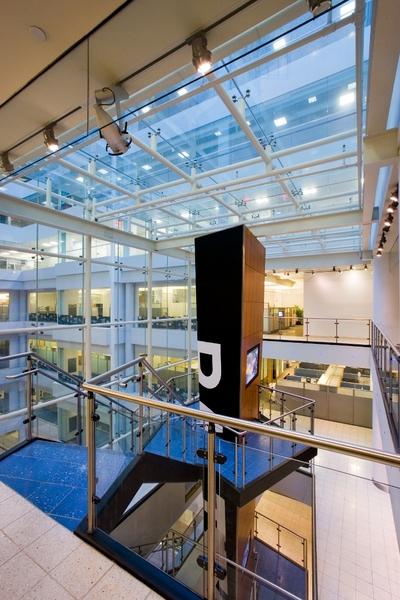 Building Interior Staircase