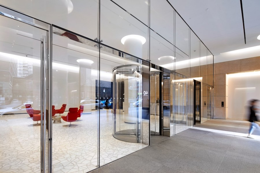 Building Exterior Lobby