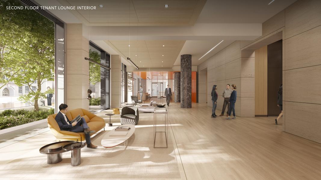 Proposed Building Interior Lounge