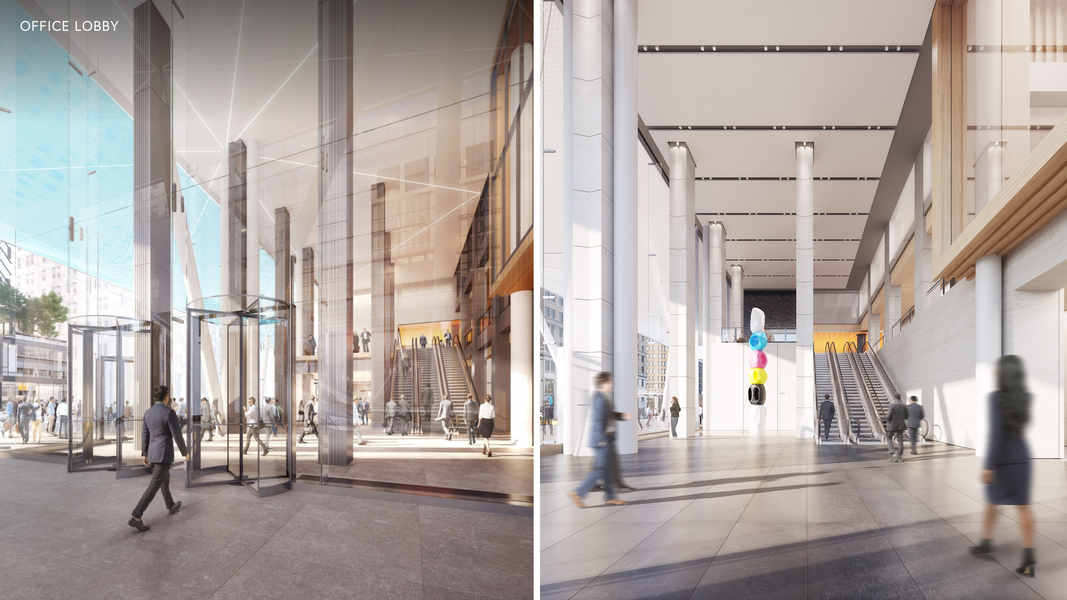 Proposed Entrance and Building Lobby