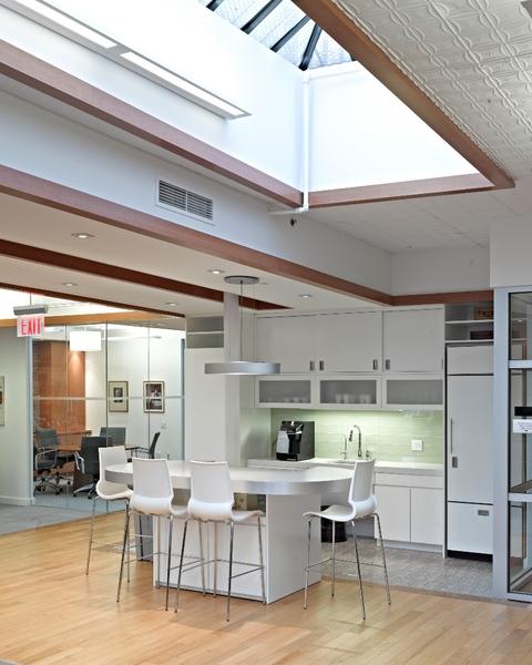 Interior Office Kitchen in Building