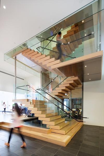 Building Interior Staircase