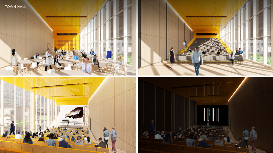 Proposed Building Interior Town Hall
