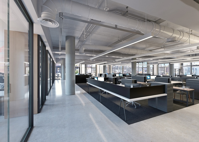 Building Interior Workspace