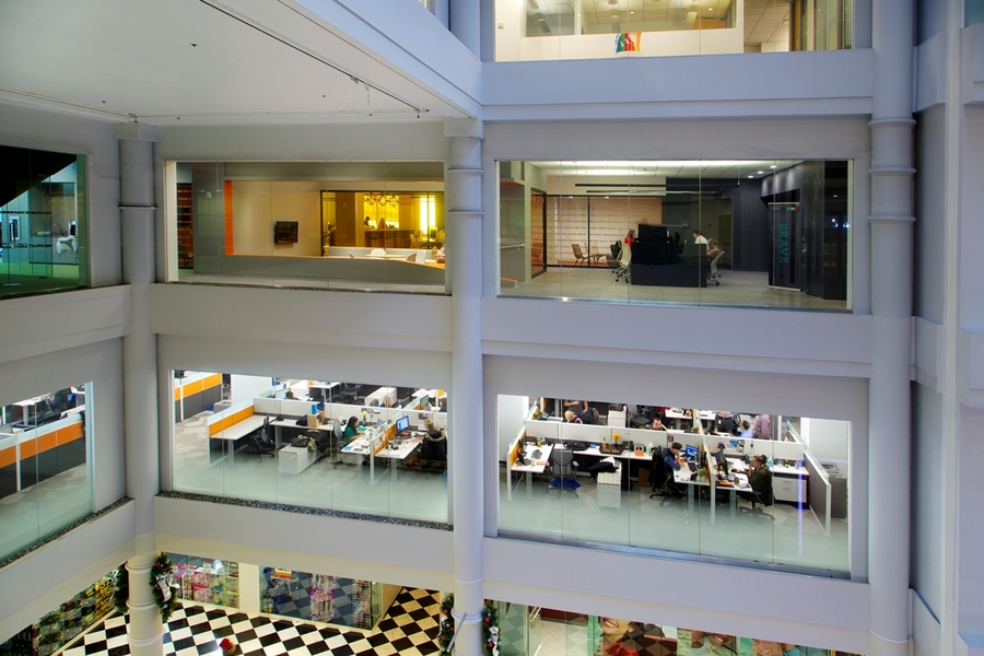 Building Interior Workspaces