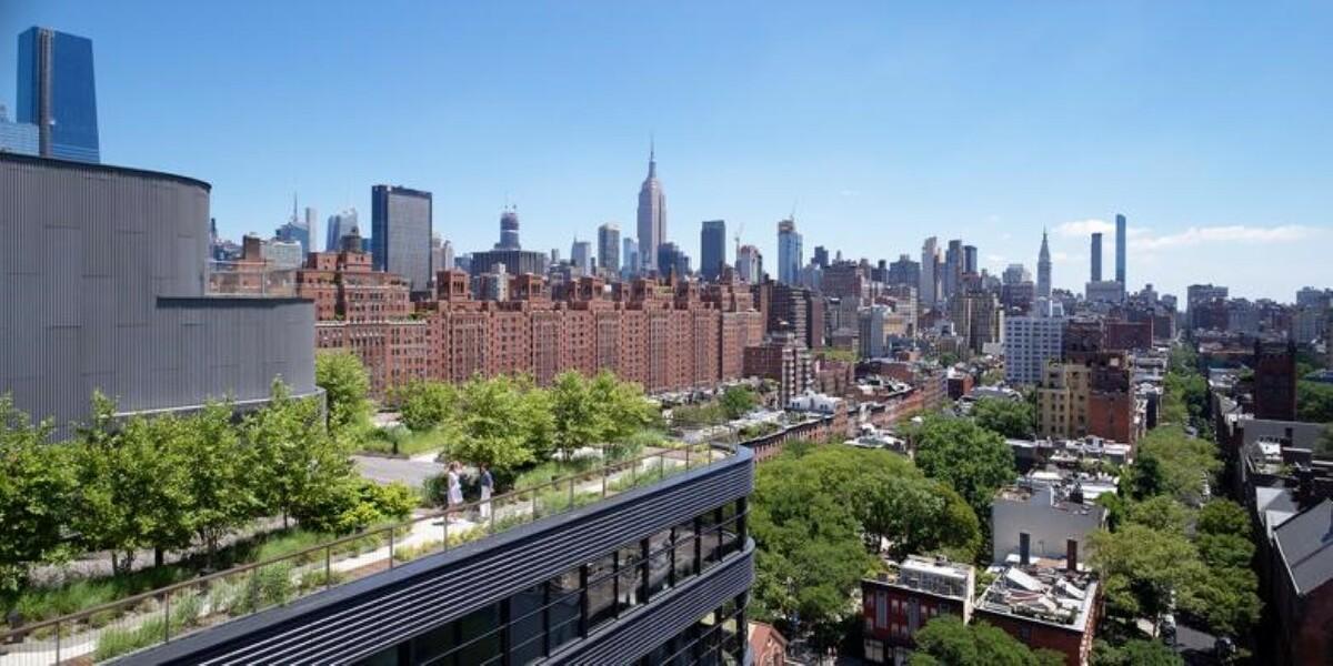 Aerial Rooftop Terrace