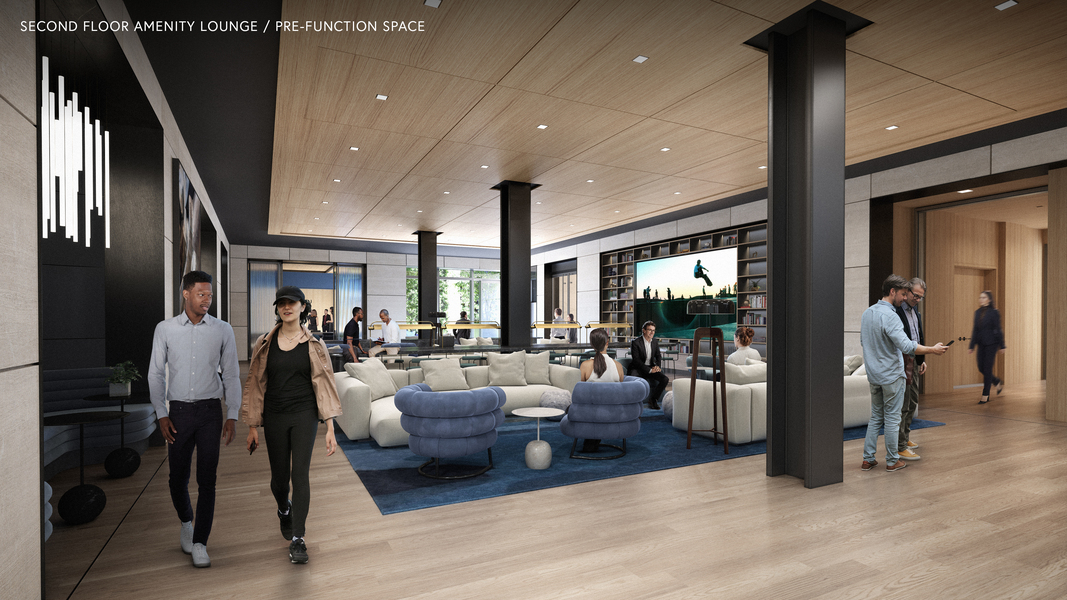 Second floor Amenity Loung / Pre-function space