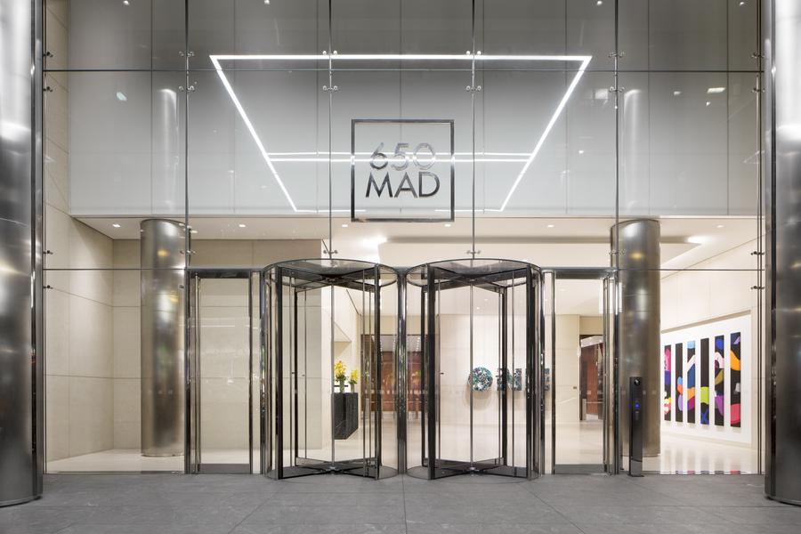 Building Exterior Entrance