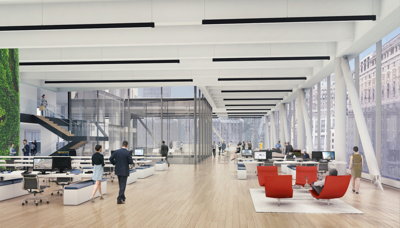 Proposed Double Height Office Space Located In The Bustle
