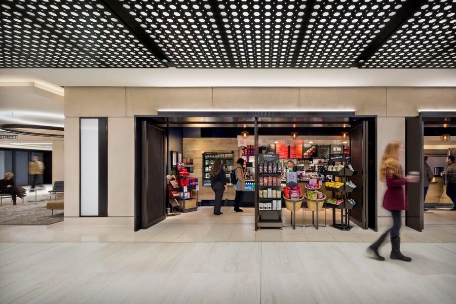 Building Concourse Storefront