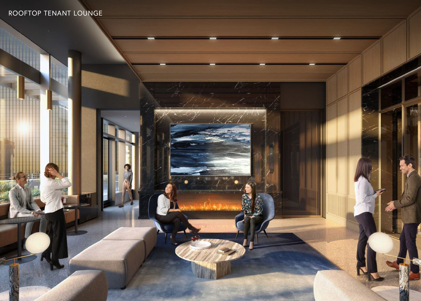 Rooftop Tenant Lounge