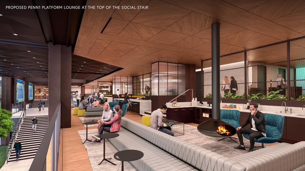 Building Interior Lounge Area