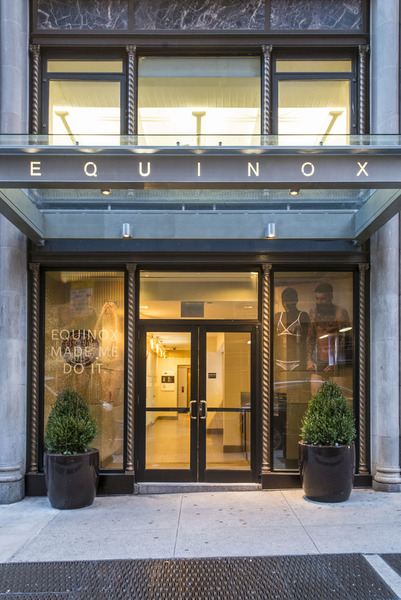 Building Equinox Entrance