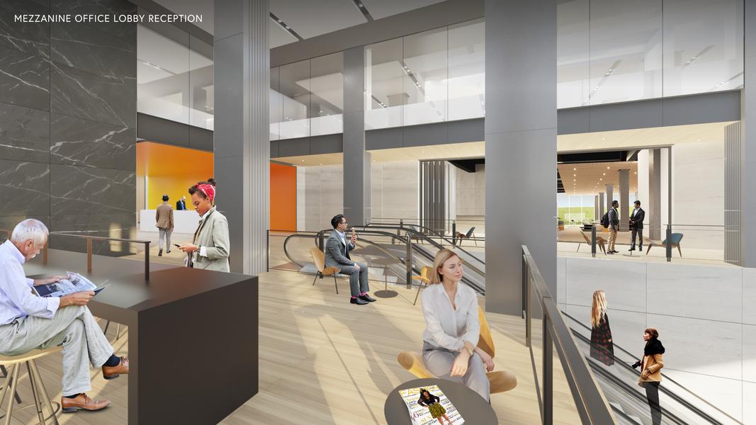 Proposed Building Interior Lobby