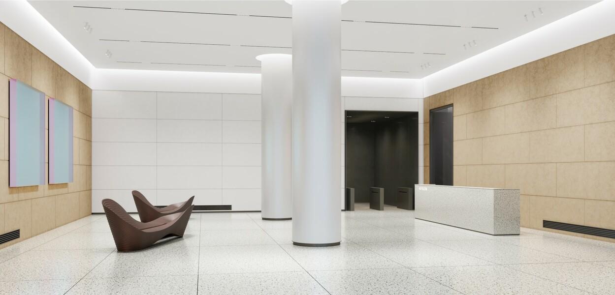Building Interior Lobby