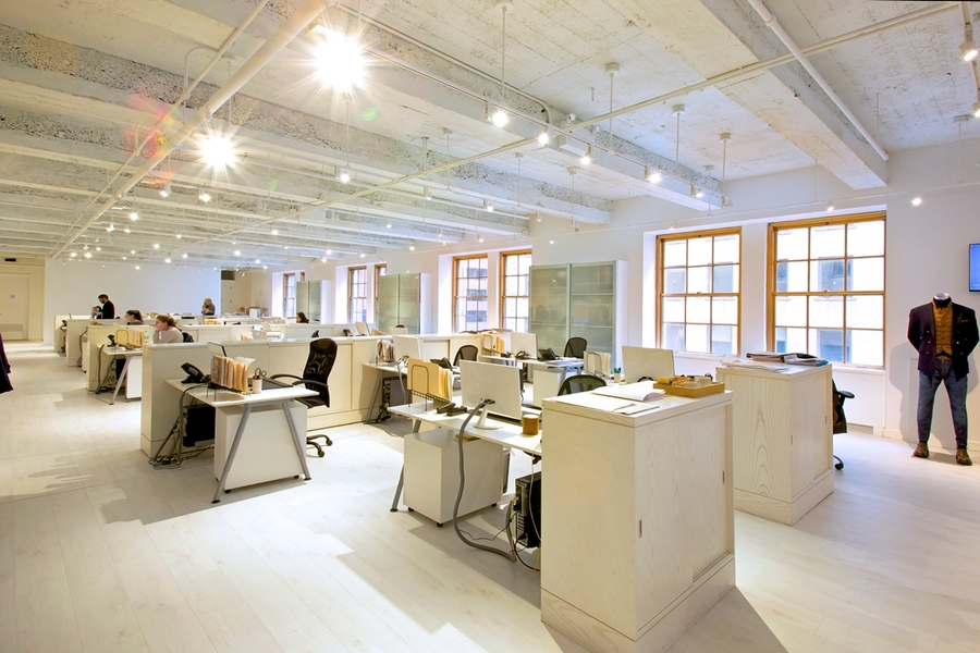 Building Interior Work space